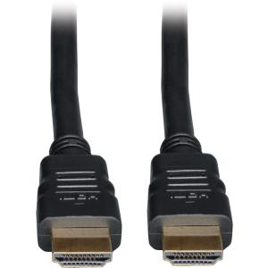 Tripp Lite P569-003 High Speed HDMI Cable with Ethernet - HDMI - 3 ft - 1 x HDMI Male Digital Audio/Video - 1 x HDMI Male Digital Audio/Video - Black