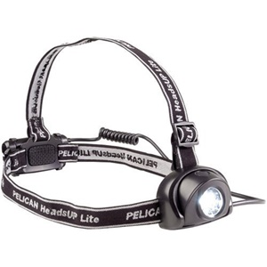 Pelican HeadsUP Lite 2670 Head Light - LED - 0.50 W - AAA - Acrylonitrile Butadiene Styrene (ABS)Body - Black