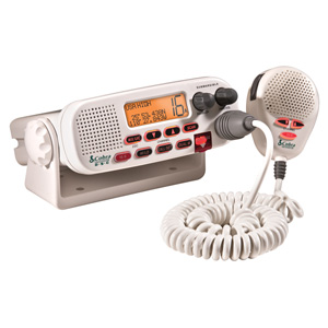 Cobra MR F55 Marine Radio - VHF - 3 Marine / 10 Weather / 16/9 Instant - 25 W - Fixed Mount