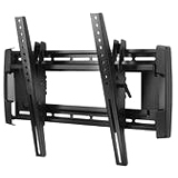 "OmniMount NC200T Wall Mount for Flat Panel Display - 37"" to 63"" Screen Support - 200.00 lb Load Capacity - Black"
