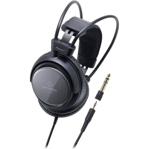 Audio-Technica ATH-T400 Headphone - Stereo - Mini-phone - Wired - 40 Ohm - 15 Hz 23 kHz - Gold Plated - Dynamic - Over-the-ear - Binaural - Ear-cup - 9.84 ft Cable