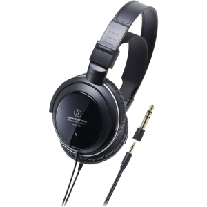 Audio-Technica ATH-T300 Headphone - Stereo - Mini-phone - Wired - 40 Ohm - 18 Hz 22 kHz - Gold Plated - Dynamic - Over-the-ear - Binaural - Ear-cup - 9.84 ft Cable