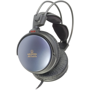 """Audio-Technica ATH-A900 Headphone - Stereo - Mini-phone - Wired - 40 Ohm - 5 Hz-40 kHz - Gold Plated - Dynamic - Over-the-head - Binaural - Ear-cup - 118"""""""