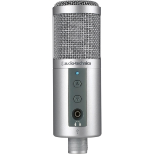 Audio-Technica ATR2500-USB Microphone - 30 Hz to 15 kHz - Wired - USB