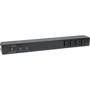 CyberPower Rackbar Surge Suppressor RM 1U RKBS20S4F10R 20A 14-Outlet - Receptacles: 14 x NEMA 5-20R - 1800J
