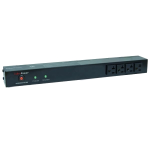 CyberPower Rackbar Surge Suppressor RM 1U RKBS20ST4F10R 20A 14-Outlet - Receptacles: 14 x NEMA 5-20R - 1800J