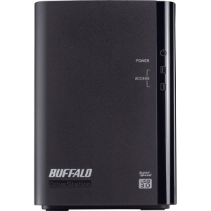 Buffalo DriveStation Duo HD-WL4TU3R1 DAS Array - 2 x HDD Installed - 4 TB Installed HDD Capacity - RAID Supported - 2 x Total Bays - USB 3.0 External