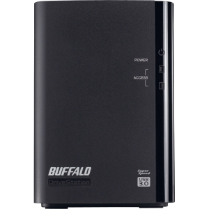 Buffalo DriveStation Duo HD-WL6TU3R1 DAS Array - 2 x HDD Installed - 6 TB Installed HDD Capacity - RAID Supported - 2 x Total Bays - USB 3.0