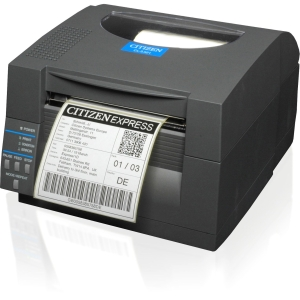 Citizen CL-S521 Direct Thermal Printer - Monochrome - Desktop - Label Print - 6 in/s Mono - 203 dpi - Fast Ethernet - USB