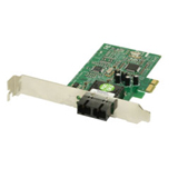 Transition Networks Fiber Optic Gigabit Ethernet Network Interface Card - PCI Express x1 - 1 x SC - 1000Base-SX - Internal - Low-profile