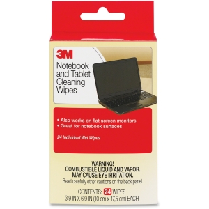3M Notebook Screen Cleaning Wipes - Cleaning Wipe