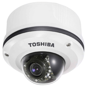 Toshiba IK-WR12A Surveillance/Network Camera - Color - 3x Optical - CMOS - Cable