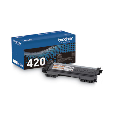 Brother TN420 Toner Cartridge - Black - Laser - 1200 Page - 1 Each