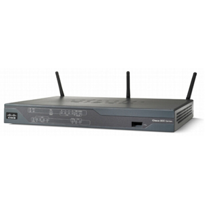 Cisco 881 Integrated Service Router - 1 x 10/100Base-TX WAN, 4 x 10/100Base-TX LAN