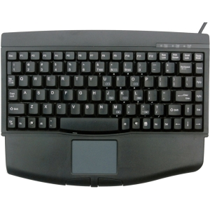 Solidtek Mini Keyboard 88 Keys with Touchpad Mouse KB-540BU - USB - 88 Key - TouchPad - PC - QWERTY