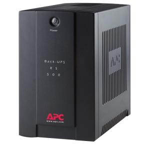 APC Back-UPS RS BR500CI-AS 500 VA Tower UPS - 500 VA/300 WTower 0.05 Hour Full Load - 3 x IEC 60320 C13 - Battery Backup System
