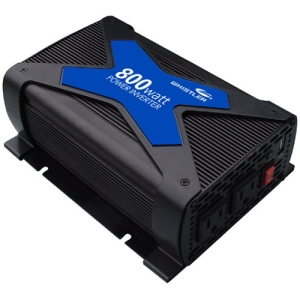 Whistler PRO-800W DC-to-AC Power Inverter - Input Voltage: 12 V DC - Output Voltage: 5 V DC, 110 V AC - Continuous Power: 800 W