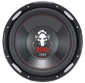 Boss PHANTOM P126DVC Woofer - 1150 W RMS - 1 Pack - 4 Ohm - 12""