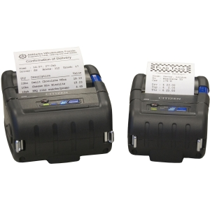 Citizen CMP-30 Direct Thermal Printer - Monochrome - Portable - Label Print - 3.90 in/s Mono - 203 dpi - Bluetooth - USB