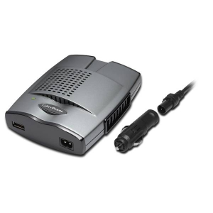 CyberPower CPS175SU Mobile Power Inverter 175W with USB Charger - Slim line - 12V DC - 5V DC - , 120V AC - Continuous Power:140W