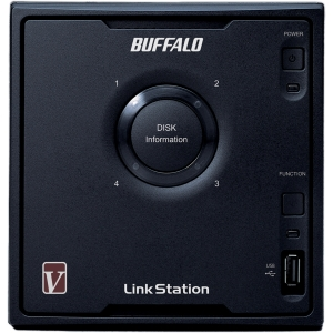 Buffalo LinkStation Pro LS-QV4.0TL/R5 Network Storage Server - 1.60 GHz - 4 TB (4 x 1 TB) - RJ-45 Network, USB