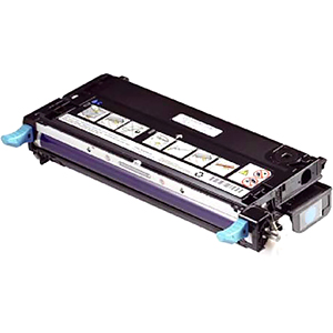 Dell H513C Toner Cartridge - Cyan - Laser - 9000 Page - 1 Pack