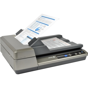 Xerox DocuMate 3220 Sheetfed Scanner - 24-bit Color - 8-bit Grayscale - USB