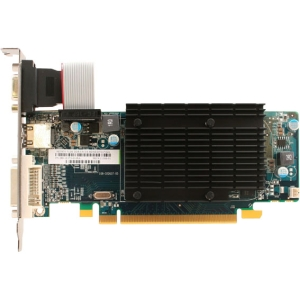 Sapphire 100291DDR3L Radeon HD 5450 Graphic Card - 650 MHz Core - 512 MB DDR3 SDRAM - PCI Express 2.0 x16 - Low-profile - 1334 MHz Memory Clock - 2560 x 1600 - CrossFireX - Fan Cooler - HDMI - DVI - VGA