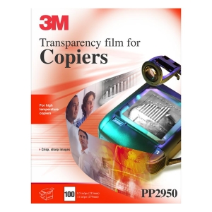 "3M Transparency Film - Letter - 8.50"" x 11"" - 100 / Box - Clear"
