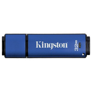 Kingston 32GB DataTraveler Vault - Privacy Edition USB 2.0 Flash Drive - 32 GB - USB - External