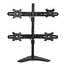 Planar Quad Monitor Stand - Up to 26.5lb - Up to 24&quot; LCD Monitor