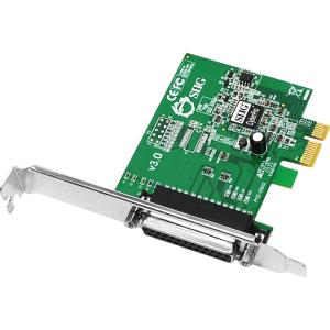 SIIG CyberParallel JJ-E01011-S3 PCIe Parallel Adapter - 1 x 25-pin DB-25 IEEE 1284 Parallel PCI Express