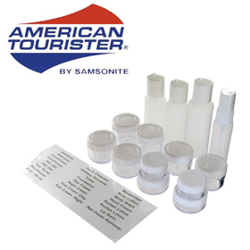 American Tourister 16pc Carry-on Toiletry Set - TSA Approved