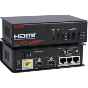 QVS Video Console/Extender - 1 Input Device - 1 Output Device - 330 ft Range - 8 x Network (RJ-45) - 1 x HDMI In