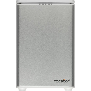 Rocstor Arcticroc 2T DAS Array - 6 TB Installed HDD Capacity - RAID Supported - 2 x Total Bays - eSATA, USB 2.0, FireWire/i.LINK 400, FireWire/i.LINK 800 Tower