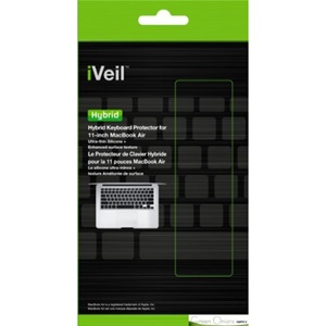 Green Onions Supply iVeil Hybrid Keyboard Skin - Keyboard - Textured - Silicone