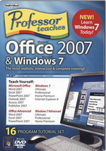 Professor Teaches Office 2007 & Windows 7