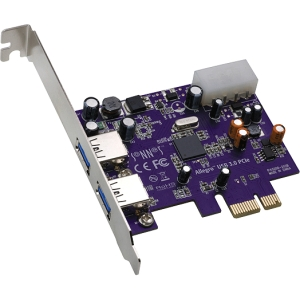Sonnet ALLEGRO 2-port PCI Express USB Adapter - 2 x USB 3.0 USB External - Plug-in Card