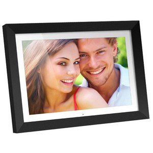 "Aluratek ADMPF119 Digital Photo Frame - 19"" LCD Digital Frame - 1440 x 900 - Cable - JPEG - Built-in 2 GB - USB"