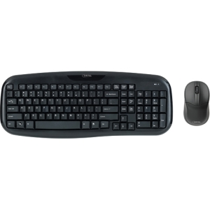 Digital Innovations 4270100 Keyboard and Mouse - USB Wireless RF Keyboard - USB Wireless RF Mouse - Optical