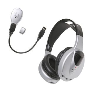 Califone Infrared Stereo/Mono Wireless Headphone Set Via Ergoguys - 2300kHz - 2800kHz