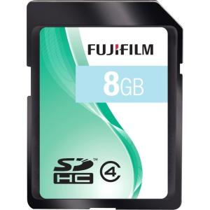 Fujifilm 600008956 8 GB Secure Digital High Capacity (SDHC) - 1 Card/Pack - Class 4