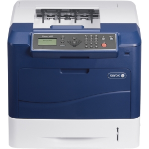 Xerox Phaser 4600N Laser Printer - Monochrome - 1200 x 1200 dpi Print - Plain Paper Print - Desktop - 55 ppm Mono Print - 650 sheets Input - Gigabit Ethernet - USB