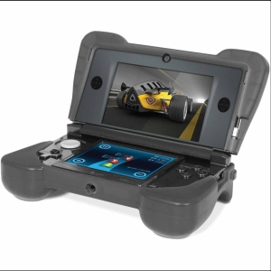 dreamGEAR DG3DS-4216 Portable Gaming Console Skin - Portable Gaming Console - Black - Silicone