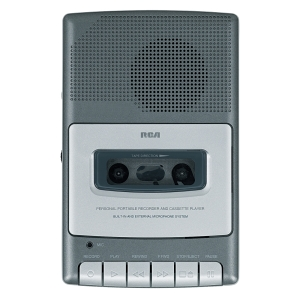 RCA Shoebox RP3504 Analog Voice Recorder - Portable