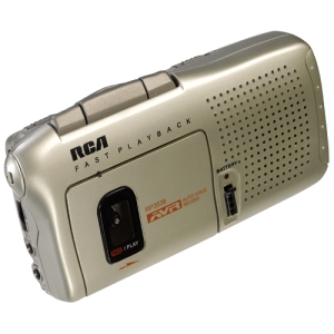 RCA RP3538 Analog Voice Recorder - Portable