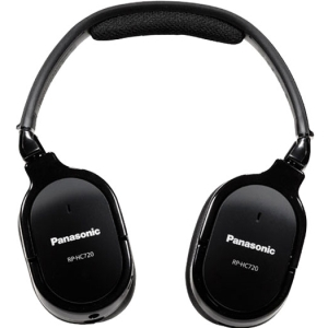 Panasonic RP-HC720 Headphone - Stereo - Mini-phone - Wired - 71 Ohm - 10 Hz 30 kHz - Gold Plated - Over-the-head - Binaural - Ear-cup - 4.90 ft Cable