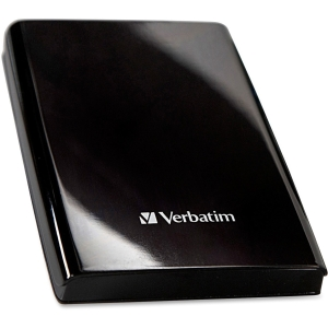 "Verbatim Store 'n' Go 97397 500 GB 2.5"" External Hard Drive - Piano Black - USB 3.0"