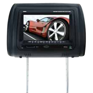 "Boss HIR7BGTA Car DVD Player - 7"" LCD - DVD Video - Secure Digital (SD), MultiMediaCard (MMC)Headrest-mountable"