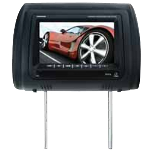 "Boss HIR7BGTM 7"" LCD Car Display - USB - IR Transmitter - Headrest-mountable"